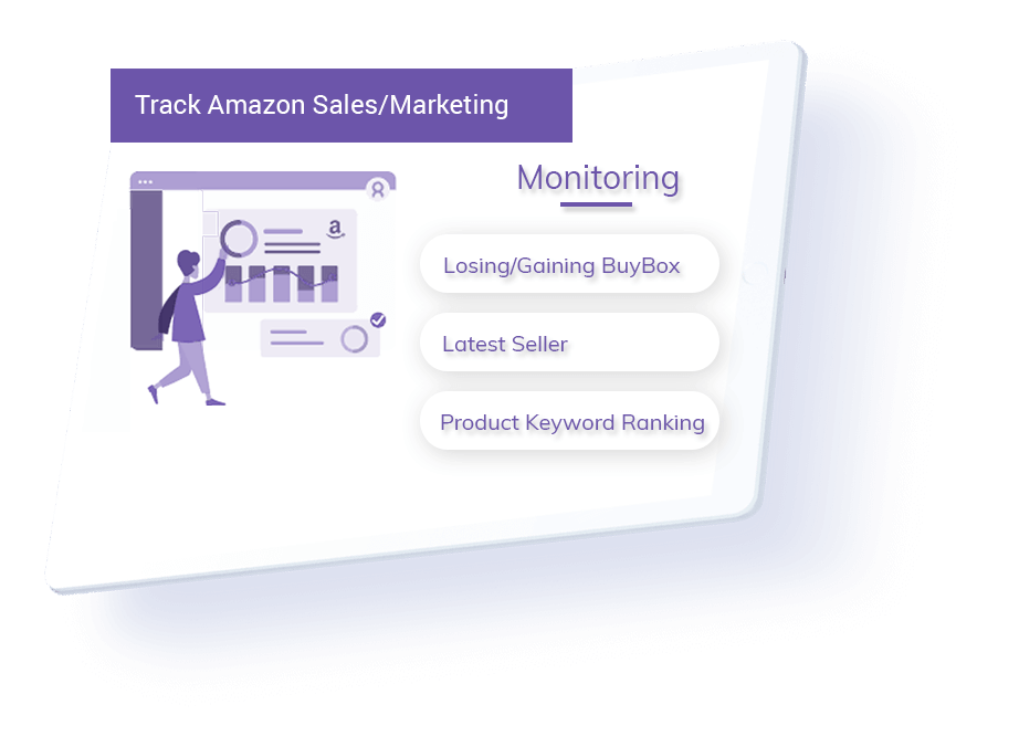 track amazon sales and marketing